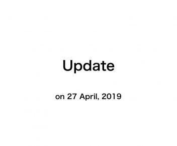 Update 2019
